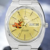 Omega Seamaster Day Date Automatic Pluto Dial Watch C1970s 6513