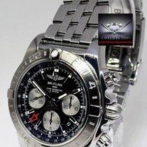 Breitling Chronomat 44 GMT Steel Mens Chronograph Watch...