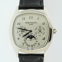 Patek Philippe 5940G-001 Perpetual Calendar Moonphase White Gold