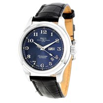 Ball Trainmaster Cleveland Express Blue Dial NM1058D-LCJ-BE