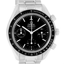 Omega Speedmaster Reduced Sapphire Crystal Steel Mens Watch...
