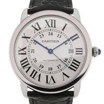 Cartier Ronde Solo 42 Silver Dial