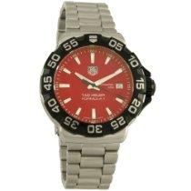 TAG Heuer Formula 1 Mens Red Dial Swiss Quartz Watch WAH1112.B...