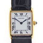 Cartier 18k yellow gold vintage 1960's Tank Arrondie