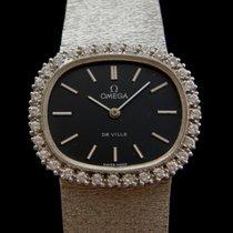 Omega 18k White Gold With Diamonds