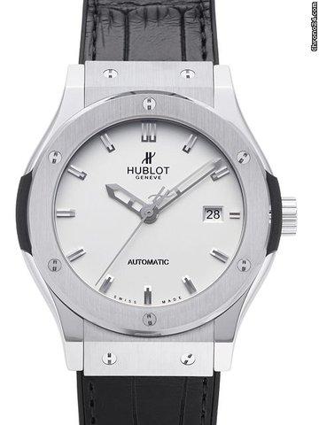 hublot classic fusion titanio 42mm