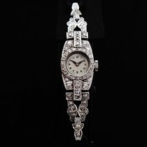 Tavannes Rare Platinum & Diamonds Ladie's Watch