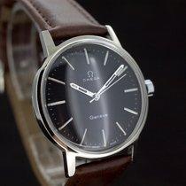 Omega Geneve Black dial Kaliber 601 aus 1970 Super Zustand