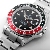 "勞力士 (Rolex) SS GMT Master ll ""Coke"" SEL 16710 Model"