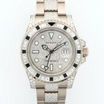 Rolex White Gold GMT-Master II Diamond Sapphire Ref. 116759