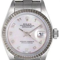 Rolex Ladies Steel Datejust Watch 79174 Mother of Pearl Roman...