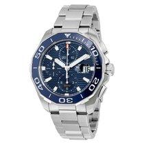 TAG Heuer Men's CAY211B.BA0927 Aquaracer Blue Dial...