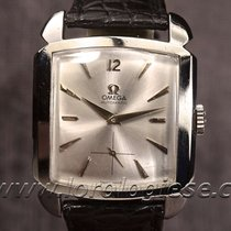 Omega 1952 Cioccolatone Automatic Ref. 3950 Tank Carre Steel...