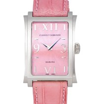 Cuervo y Sobrinos Prominente Clasico Automatic Ladies Watch –...
