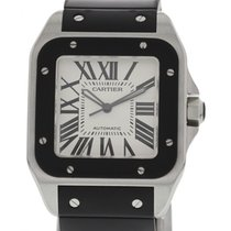 Cartier Men's Cartier Santos 100 XL Stainless Steel 2656