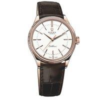 Rolex Cellini Time 18 kt Roségold 50505 Zifferblatt Weiß