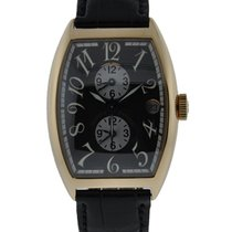 Franck Muller Master Banker 18kt Yellow Gold With Black Dial...