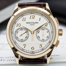 Patek Philippe 5170R-001 Chronograph 18K Rose Gold Silver Dial...