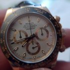 Rolex Daytona 116515 everose gold with ivory dial