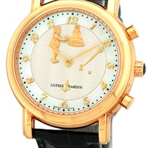 "Ulysse Nardin Gent's 18K Rose Gold  ""Hour Striker San..."