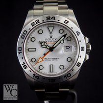 Rolex Explorer II 42mm Orange Hands White Dial 216570