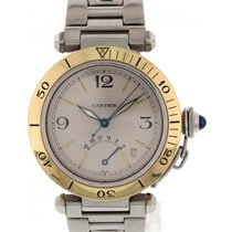 Cartier Men's Cartier Pasha 18k Yellow Gold / SS 1033...