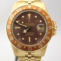 Rolex GMT Master 1675 Dial Cookie  Box & Papers SERVICED