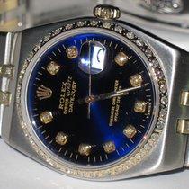 Rolex Datejust Gold Oysterquartz Diamonds