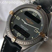 Breitling Aerospace Navitimer chrono Titane et Or Alarm 89