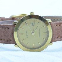 ゼニス (Zenith) Damen Uhr Gehäuse Stahl Vergoldet 25mm Rar...