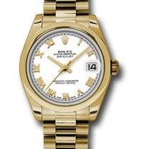 Rolex Unworn 178248 Mid Size Yellow Gold Datejust - President...