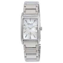 Hamilton Ardmore Mother of Pearl Dial Diamond Ladies Watch