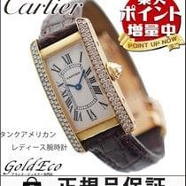 Cartier 【カルティエ】  タンク アメリカン レディース 腕時計 【中古】  WB701251 K18YG /2D...
