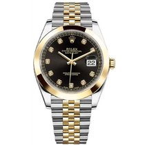 Rolex Datejust Black Diamond Dial 41mm