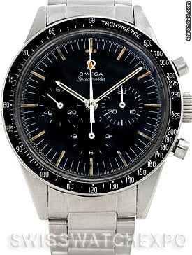 Omega Premoon 321 Speedmaster Straight Lugs Watch 105.003-65