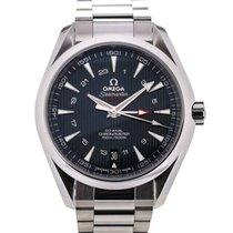 Omega Seamaster Aqua Terra Co-Axial GMT 43 Blue Dial