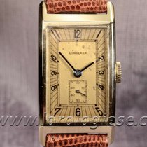 Longines Vintage 1936 Solid Gold Tank Cal. 25.17