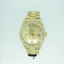 Rolex Daydate 18348 With Original Diamond Dial & Bezel