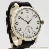Omega Pocket Watch Conversion To Wrist Watch circa 1931
