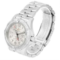 Breitling Colt Gmt Automatic Stainless Steel Watch A32350 Box...