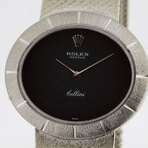 Rolex Cellini Tradition Ref. 3881 18K White Gold Watch...