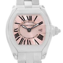 Cartier Roadster Ladies Pink Dial Watch W62017v3