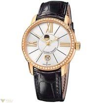 Ulysse Nardin Classico Luna Rose Gold 18K Diamonds Bezel...