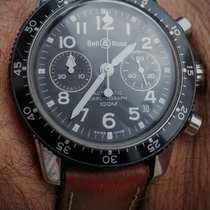 Bell & Ross pilot acrylic (heuer bundeswehr, cp-2 style)