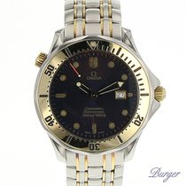 Omega Seamaster Professional Diver 300M Gold/Steel