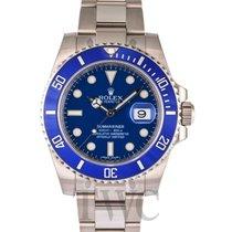 Rolex Submariner Blue/18k white gold Ø40mm - 116619LB