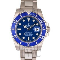 勞力士 (Rolex) Submariner Blue/18k white gold Ø40mm - 116619LB