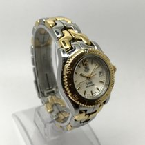 TAG Heuer LINK WT1455-BD0562 TWO TONE GOLD AND STEEL MOP DIAL...
