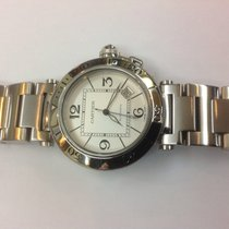 Cartier Pasha Seatimer stainless steel Ref.W31080M7