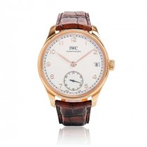 IWC [NEW] Portuguese Hand-Wound 8 Days IW510204